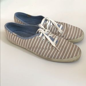 Keds Striped Canvas Sneakers